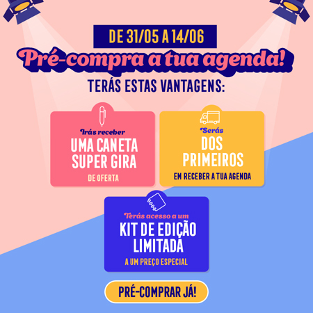Pre-compra a tua agenda 2021-2022