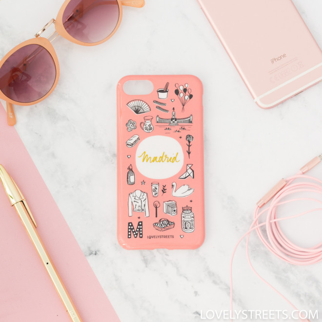 Carcasa Lovely Streets para iPhone 7 - Madrid