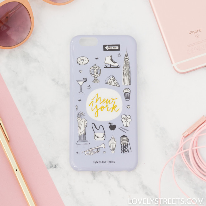 Carcasa Lovely Streets para iPhone 6/6S - New York