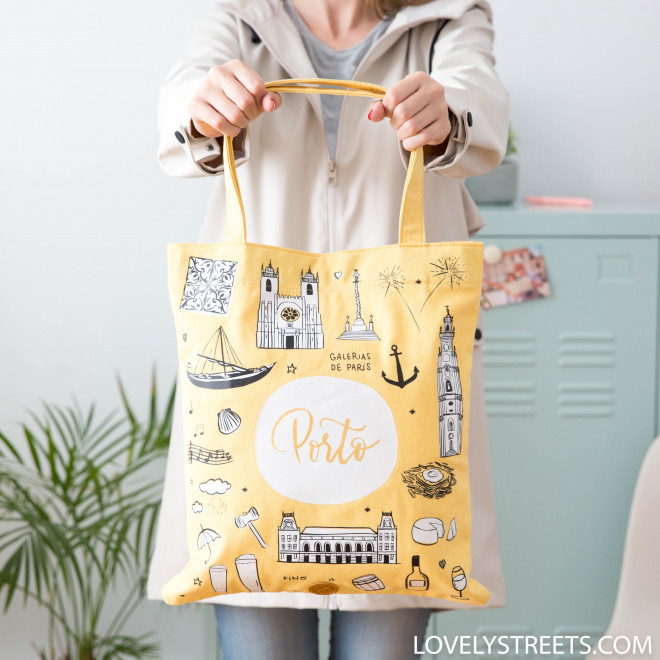 Tote bag Porto - Lovely Streets