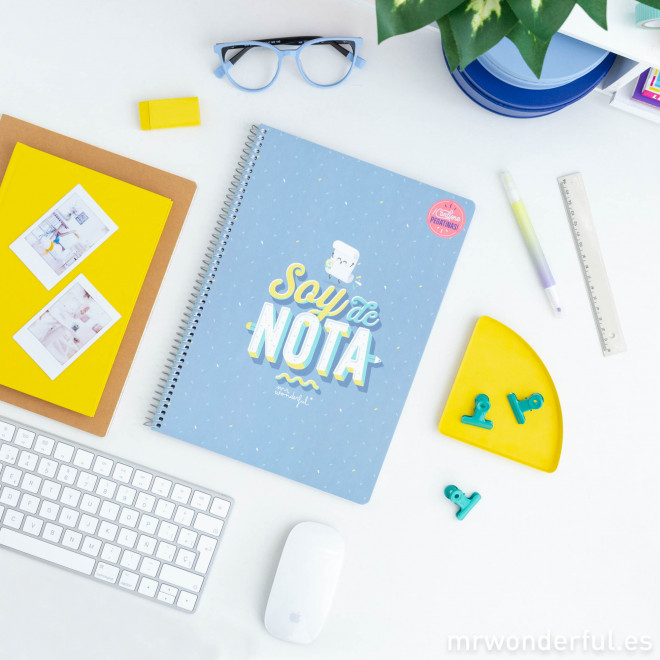 Libreta Mr. Wonderful