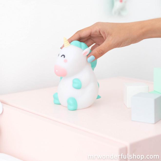 Luz quitamiedos para soñar bonito - Unicornio