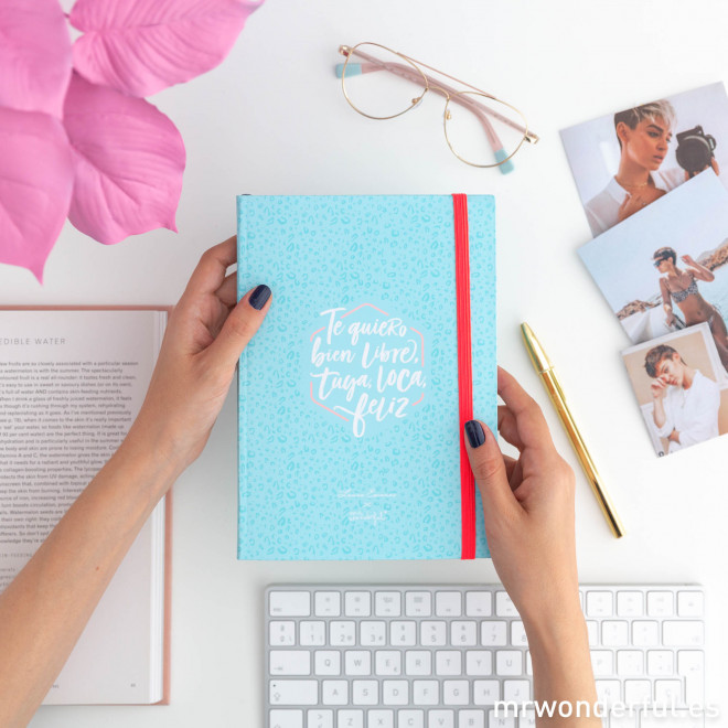 Planificador semanal Laura Escanes & Mr. Wonderful