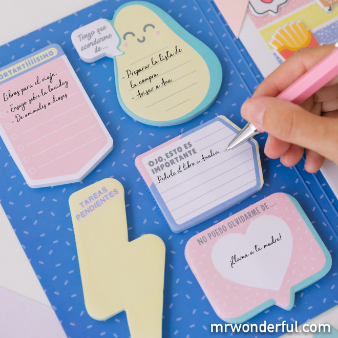 Notas antidespistes para recordar todo lo que necesites