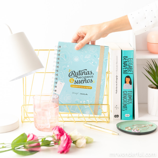 Planificador semanal Beta Coqueta + Mr. Wonderful