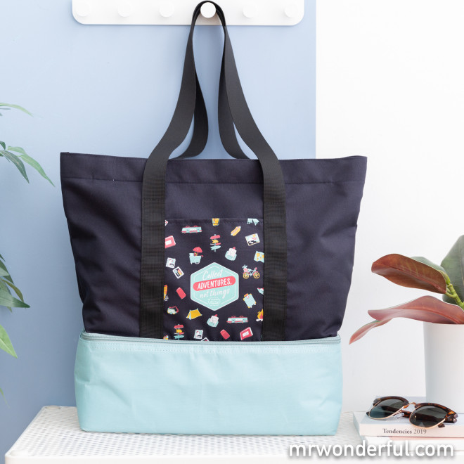 Bolsa con compartimento térmico - Collect adventures