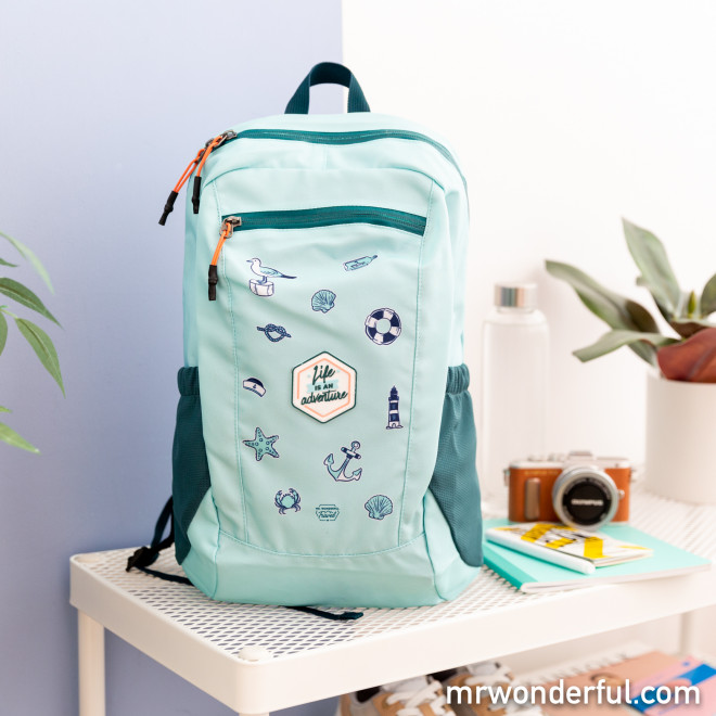 Mochila plegable - Life is an adventure