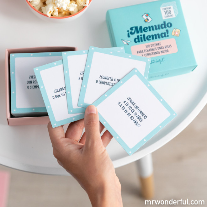 Juego de cartas Mr. Wonderful