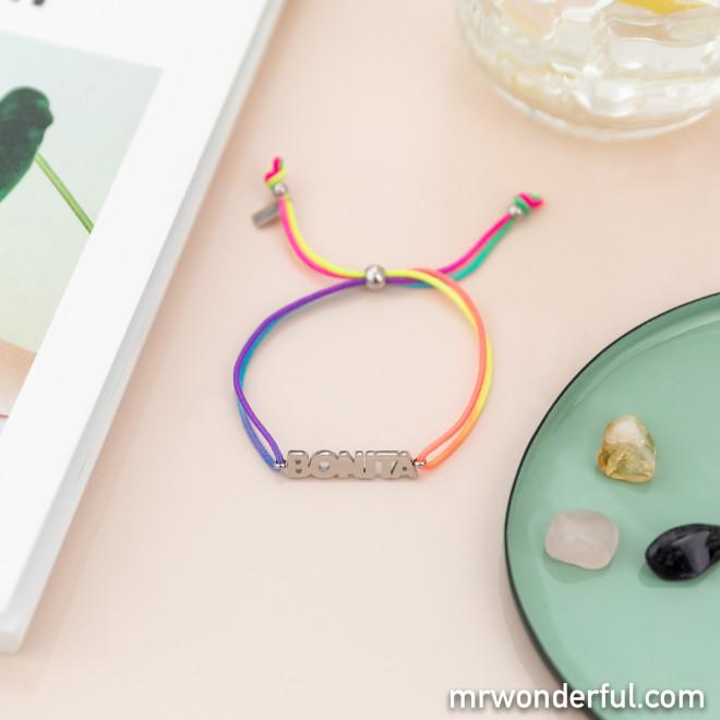 Pulsera Rainbow - Bonita