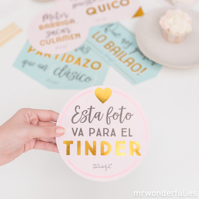 Accesorios Para Photocall Mensajes Mr Wonderful