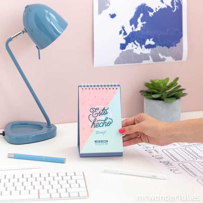 Libreta de pegatinas y notas adhesivas mr wonderful