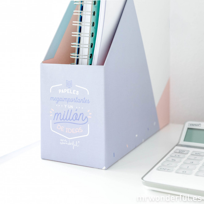 Kit de escritorio mr wonderful