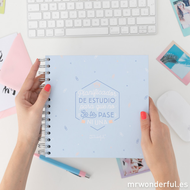 Planificador de estudio mr wonderful
