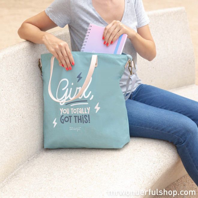 Tote bag - Girl, you totally got this! (ENG)