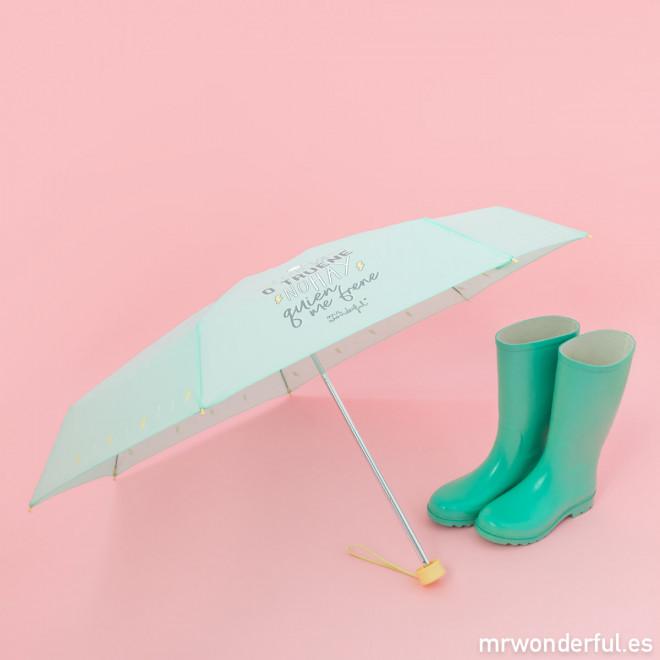 Paraguas pequeño - Llueva o truene no hay quien me frene
