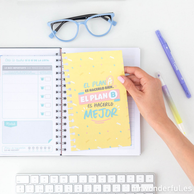 Extra de productividad para tu agenda Mr. Wonderful