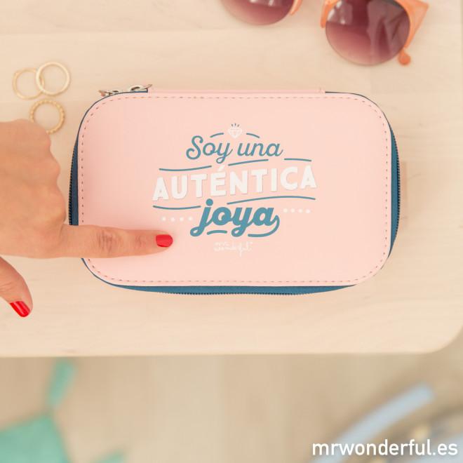 Neceser joyero - Soy una auténtica joya
