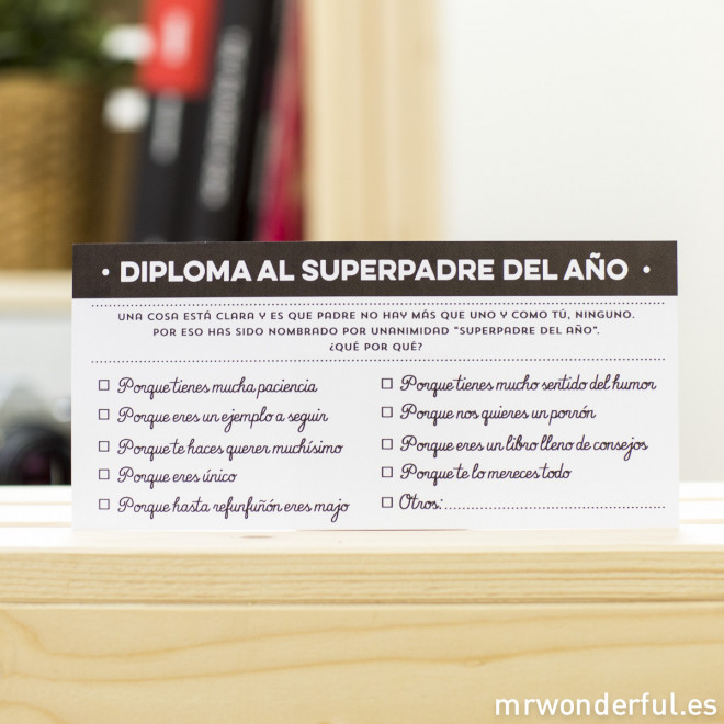 Kit - Superpadre del año
