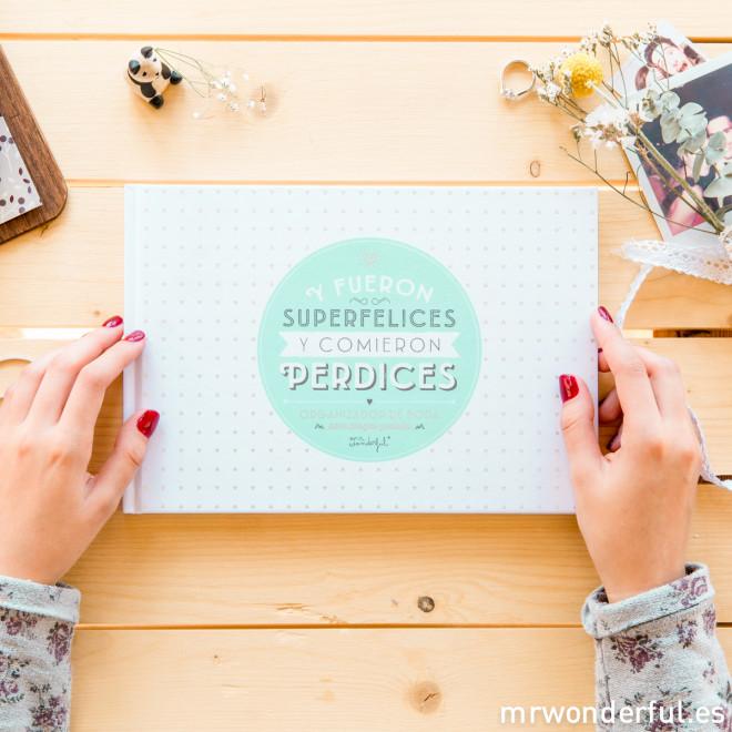 Elige la agenda para novias perfecta
