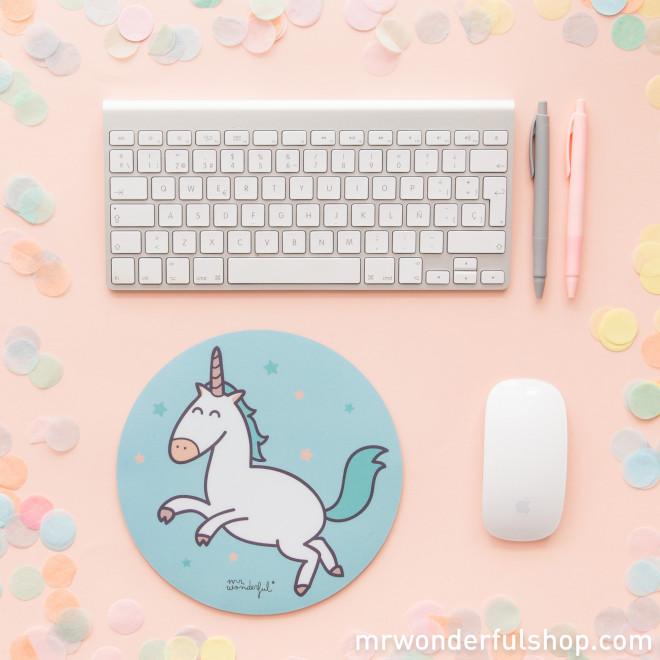 Alfombrilla para ratón - Unicornio