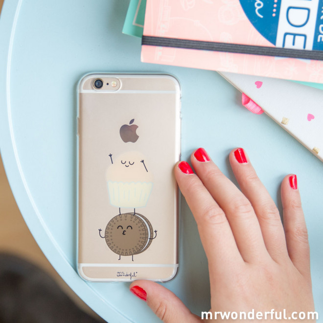 Carcasa transparente para iPhone 6 - Madalena