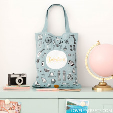 Tote bag Barcelona- Lovely Streets