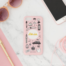 Carcasa Lovely Streets para iPhone 7 - London