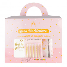 Un kit Mr. Wonderful para montar un auténtico sarao