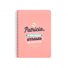 Libreta Patricia - Wonderful names