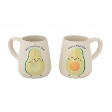 Set of 2 mugs - With you by my side life's a wild ride