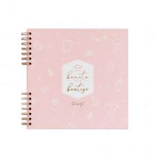 Álbum de fotos rosa - Así de bonito fue mi bautizo
