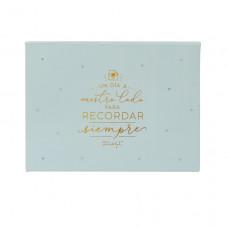 Caja con 100 tarjetones para dedicatorias de boda únicas