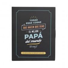 Libro con chocolatinas
