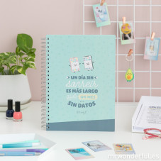 libretas mr wonderful