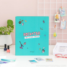 Carpeta archivadora - Rockstar in study mood (ENG)