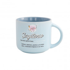 Taza Mr. Wonderful con el signo de sagitario