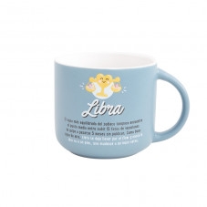 Taza Mr. Wonderful con el signo de libra