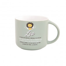 Taza Mr. Wonderful con el signo de leo
