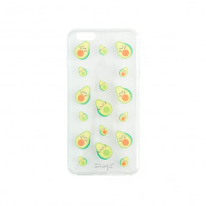 Carcasa transparente para iPhone 6 plus - Aguacates