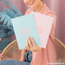 Set de 2 libretas Laura Escanes & Mr. Wonderful