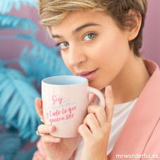 Taza Laura Escanes & Mr. Wonderful
