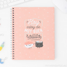 Libreta grande Mr.Wonderful