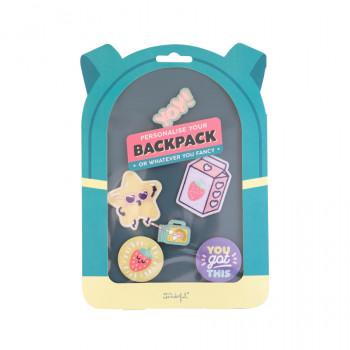 Extras para personalizar tu mochila o lo que tú quieras - Yay!