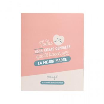Libro con chocolatinas - Cosas que te hacen ser la mejor madre