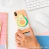 Tarjetero adhesivo para smartphone - Aguacate