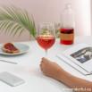 Copa de vino de cristal