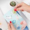 Carcasa con purpurina para iPhone X/XS - Unicornios