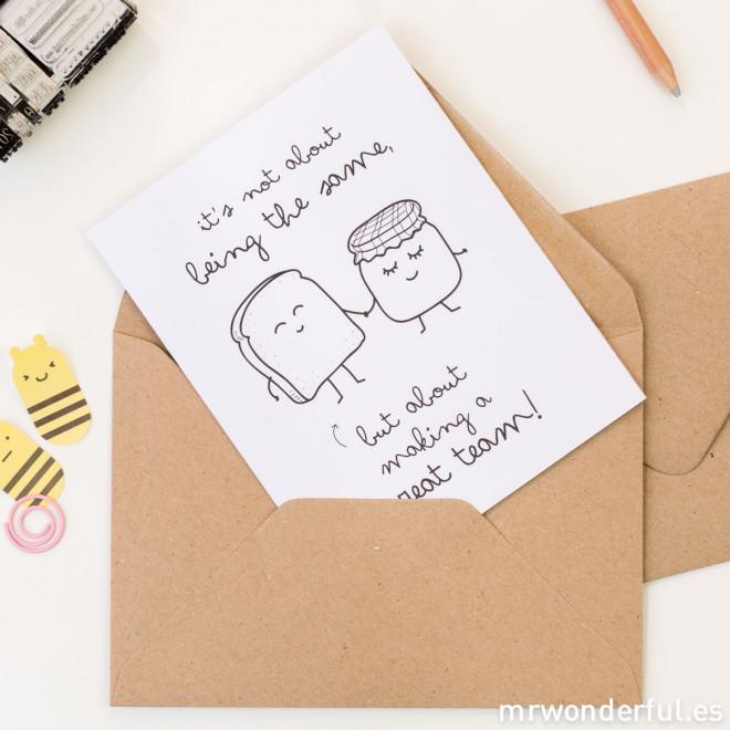 Cartoline di auguri con wonderconsigli - Confezione con 5 modelli (ENG)