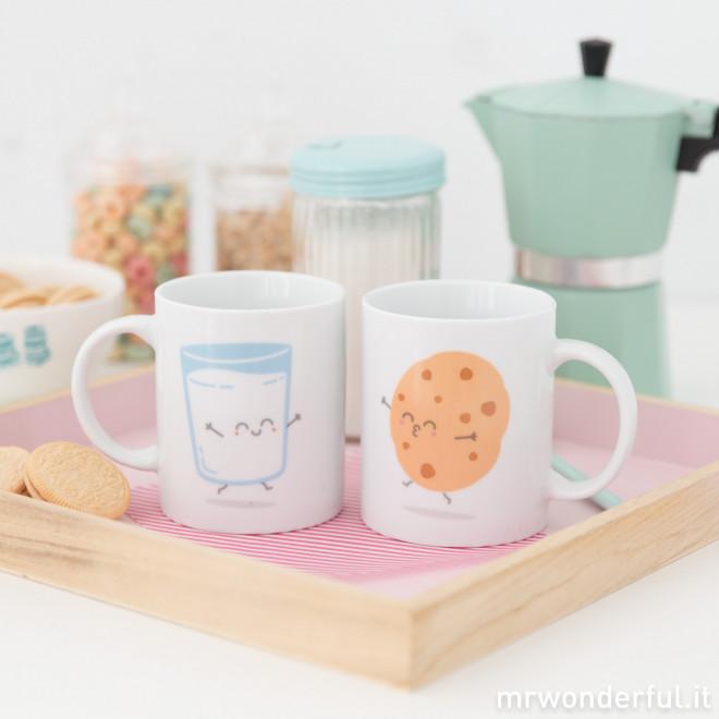 Set di 2 tazze colazione