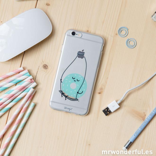 Cover transparente per iPhone 6 - Ciambelline (ENG)
